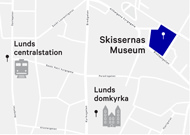 Map to Skissernas Museum